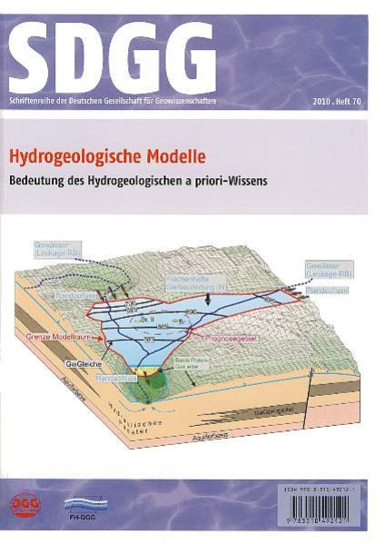 Hydrogeologische Modelle: Bedeutung des Hydrogeologischen a priori-Wissens - Coverbild