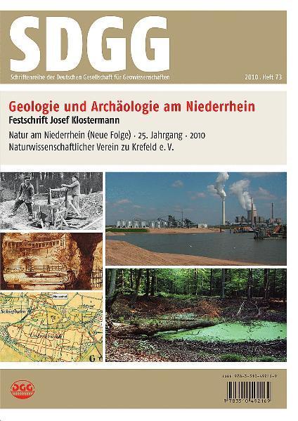 Beiträge zur Geologie und Archäologie des Niederrheins - Coverbild