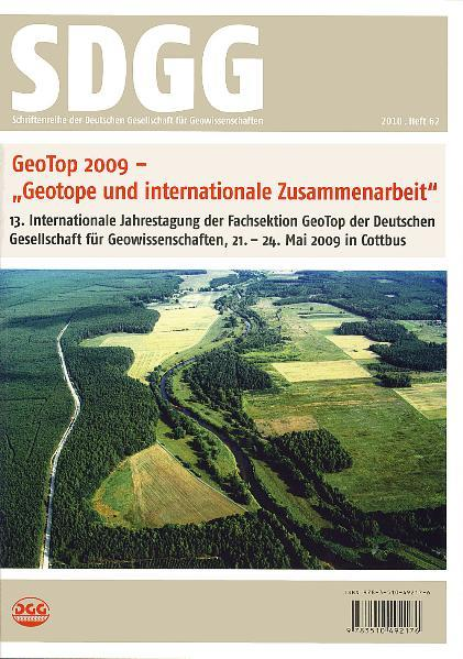 GeoTop 2009 - Geotope und internationale Zusammenarbeit - Geotopy i wspólpraca miedzynarodowa - Coverbild