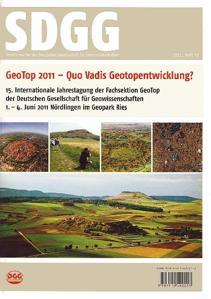 GeoTop 2011 - Quo vadis Geotopentwicklung? - Coverbild