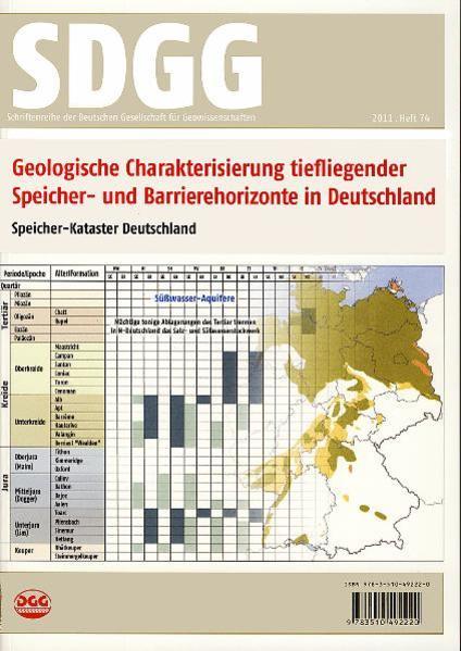 Geologische Charakterisierung tiefliegender Speicher- und Barrierehorizonte in Deutschland - Speicher-Kataster Deutschland - Coverbild