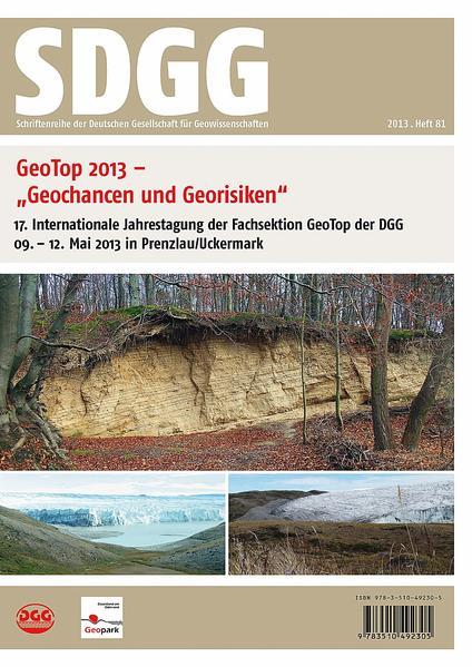 Geotop 2013 - Geochancen und Georisiken - Coverbild