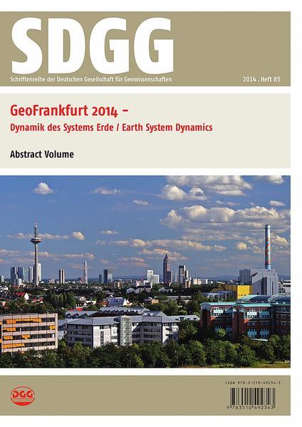 GeoFrankfurt 2014 - Coverbild