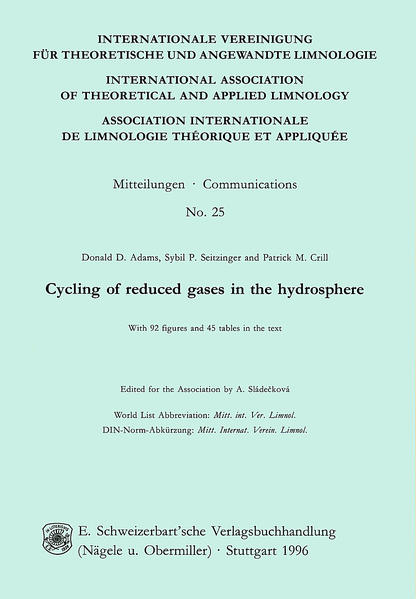 Cycling of reduced gases in the Hydrosphere - Coverbild