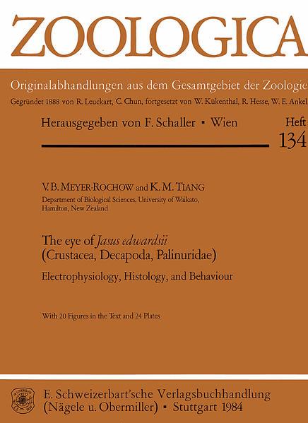 The eye of Jasus edwardsii (Crustacea, Decapoda, Palinuridae) - Coverbild