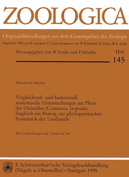 Vergleichend- und funktionell-anatomische Untersuchungen am Pleon der Oniscidea (Crustacea, Isopoda) - Coverbild