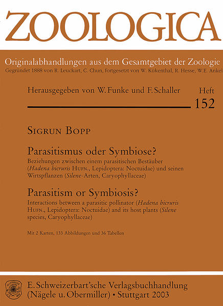 Parasitismus oder Symbiose?  = Parasitism or Symbiosis? - Coverbild