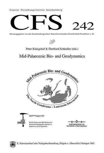 Mid-Palaeozoic Bio- and Geodynamics. The North Gondwana - Laurussia Interaction - Coverbild