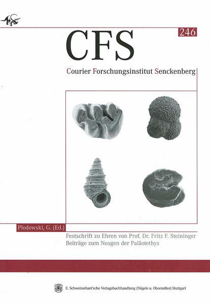Festschrift zu Ehren von Prof. Dr. Fritz F. Steininger.  Beiträge zum Neogen der Paläotethys - Coverbild