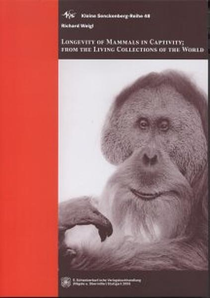 Longevity of mammals in captivity - Coverbild