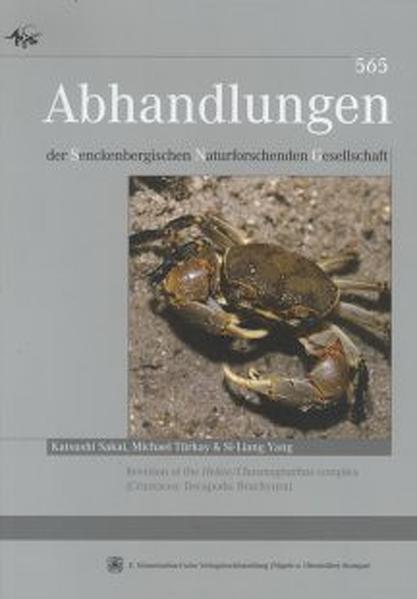 Revision of the Helice /Chasmagnathus complex (Crustacea: Decapoda:Brachyura) - Coverbild