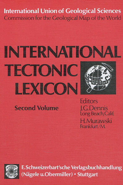 International Tectonic Lexicon - Coverbild