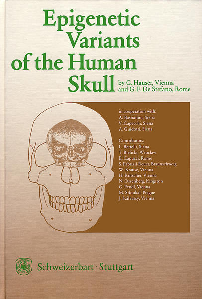 Epigenetic Variants of the Human Skull - Coverbild