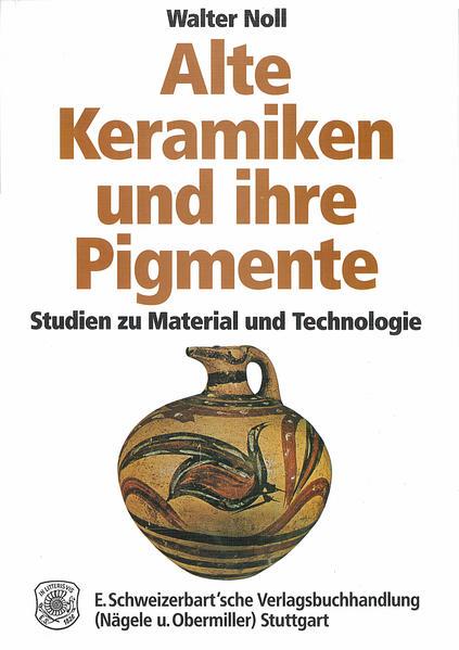 Alte Keramiken und ihre Pigmente - Coverbild