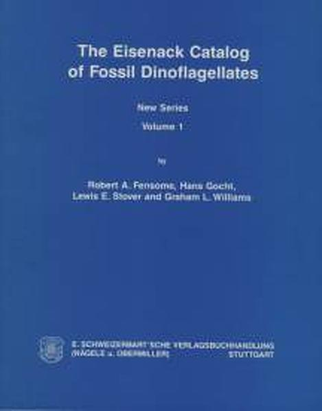 The Eisenack Catalog of Fossil Dinoflagellates. New Series. Loseblattausgabe - Coverbild