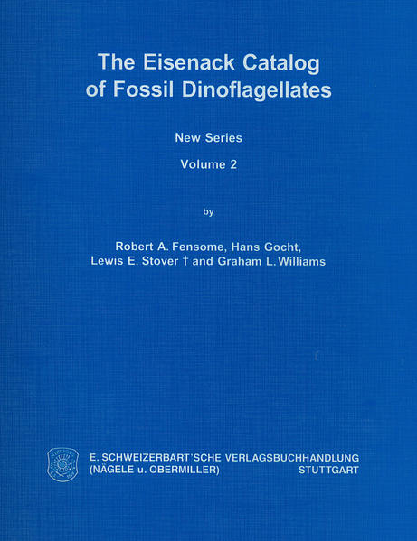 The Eisenack Catalog of Fossil Dinoflagellates. New Series. Loseblattausgabe - Coverbild