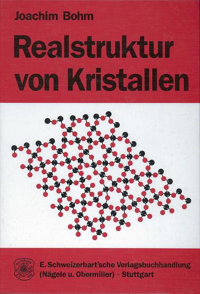 Realstruktur von Kristallen - Coverbild