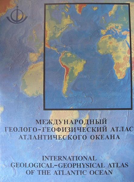 International Geological-Geophysical Atlas of the Atlantic Ocean - Coverbild