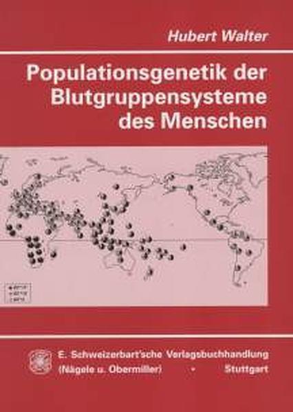 Populationsgenetik der Blutgruppensysteme des Menschen - Coverbild