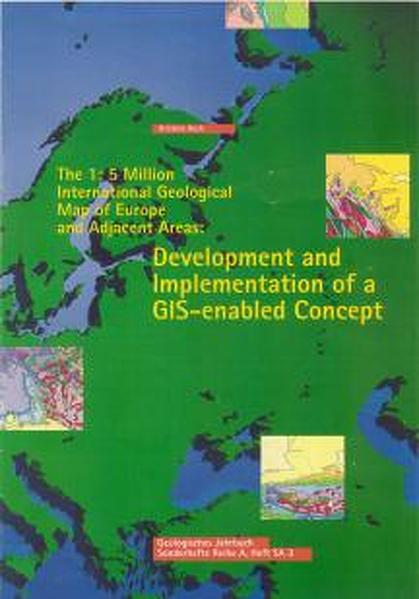 The 1:5 Million International Geological Map of  Europe and Adjacent Areas: - Coverbild