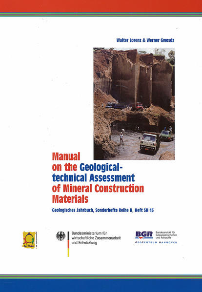 Manual on the Geological-technical Assessment of Mineral Construction  Materials - Coverbild