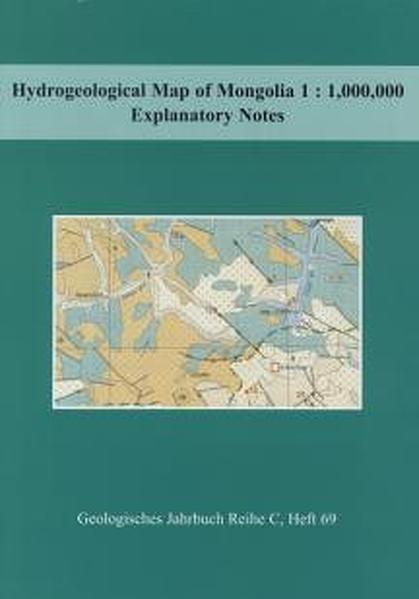 Hydrogeological Map of Mongolia 1: 1000000 - Coverbild