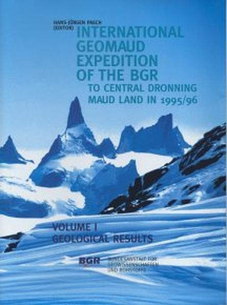 International GeoMaud Expedition of the BGR to Central Dronning Maud Land in 1995/96 - Coverbild