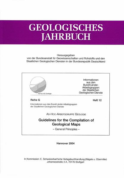 Guidelines for the compilation of Geological Maps - Coverbild