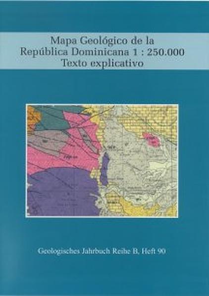 Mapa Geológico de la República Dominicana 1: 250000  Texto explixcativo - Coverbild