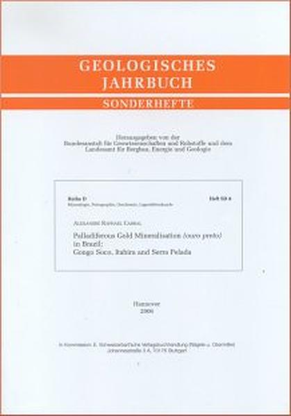 Palladiferous Gold Mineralisation (ouro preto) in Brazil: Gongo Soco, Itabira and Serra Pelada - Coverbild