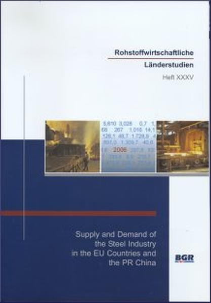 Supply and Demand of the Steel Industry in the EU Countries and the PR China - Coverbild