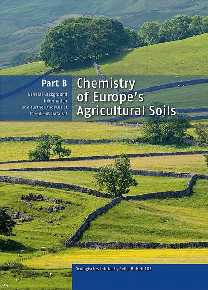 Chemistry of Europe's Agricultural Soils, Part B - Coverbild