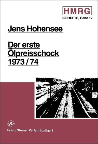 Der erste Ölpreisschock 1973/74 - Coverbild