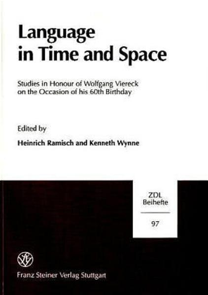 Language in Time and Space - Coverbild