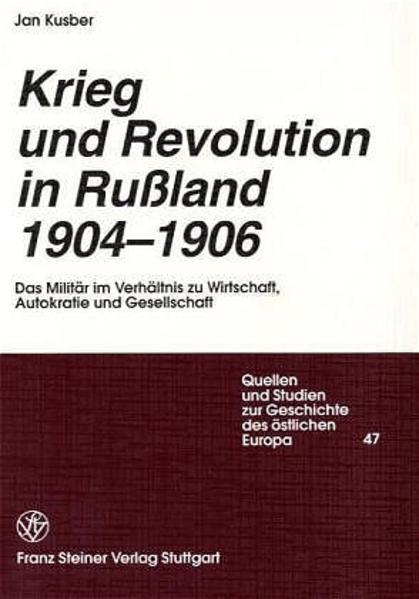 Krieg und Revolution in Russland 1904-1906 - Coverbild