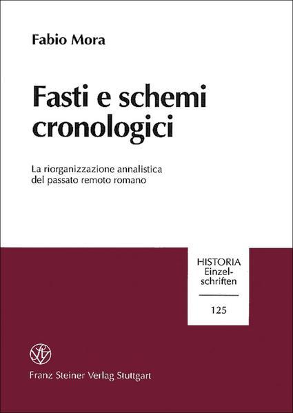 Fasti e schemi cronologici - Coverbild
