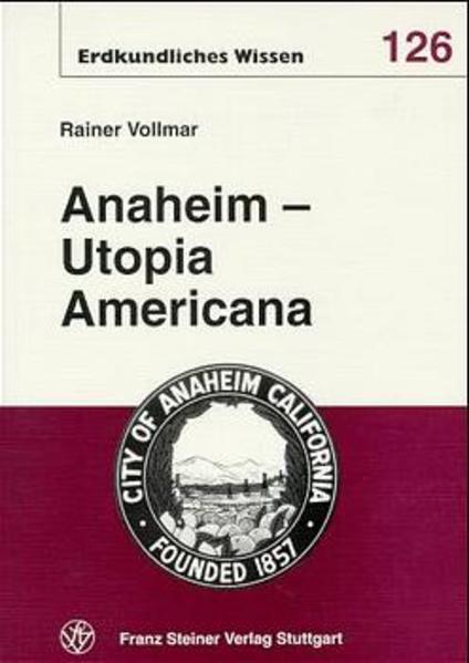 Anaheim – Utopia Americana - Coverbild