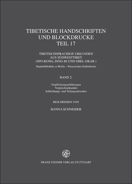 Tibetische Handschriften und Blockdrucke. Gesammelte Werke des Kon-sprul... / Tibetische Handschriften und Blockdrucke - Coverbild