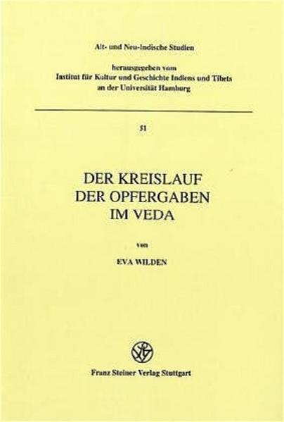Der Kreislauf der Opfergaben im Veda - Coverbild