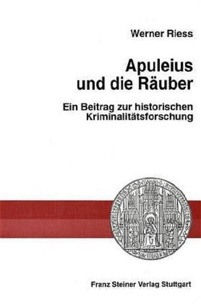 Apuleius und die Räuber - Coverbild