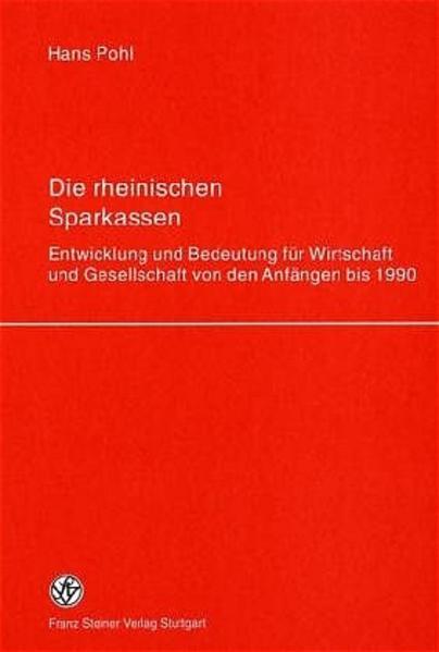 Die rheinischen Sparkassen - Coverbild