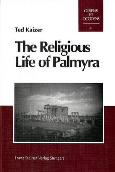 The Religious Life of Palmyra - Coverbild