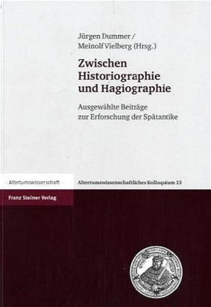 Zwischen Historiographie und Hagiographie - Coverbild