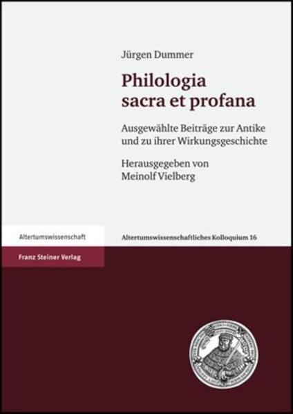 Philologia sacra et profana - Coverbild