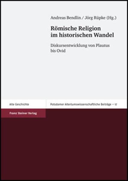 Römische Religion im historischen Wandel - Coverbild