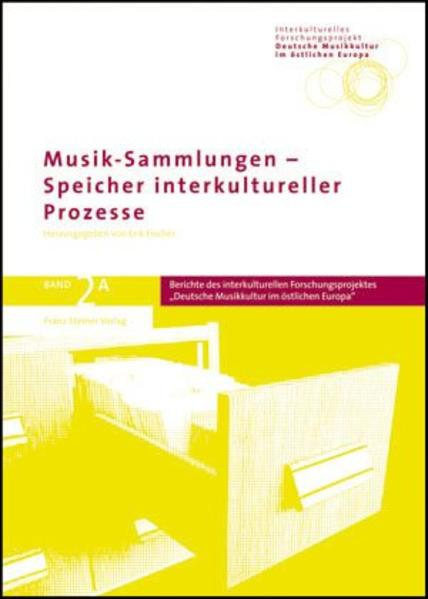 Musik-Sammlungen – Speicher interkultureller Prozesse - Coverbild