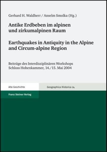 Antike Erdbeben im alpinen und zirkumalpinen Raum / Earthquakes in Antiquity in the Alpine and Circum-alpine Region - Coverbild