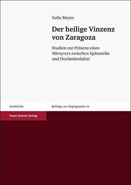 Der heilige Vinzenz von Zaragoza - Coverbild