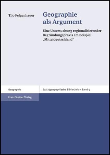 Geographie als Argument - Coverbild