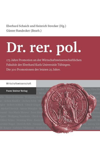 Dr. rer. pol. - Coverbild